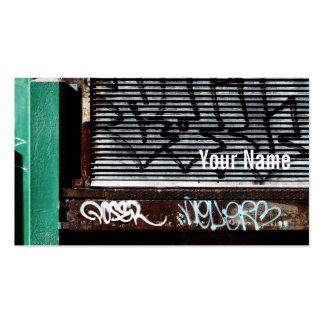 loading dock business card