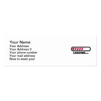 Loading Double-Sided Mini Business Cards (Pack Of 20)