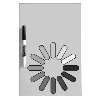 loading Dry-Erase board