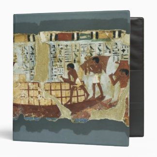 Loading grain, from the Tomb of Unsou, East 3 Ring Binder