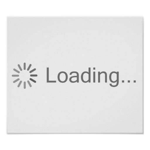 Loading Image Icon Posters