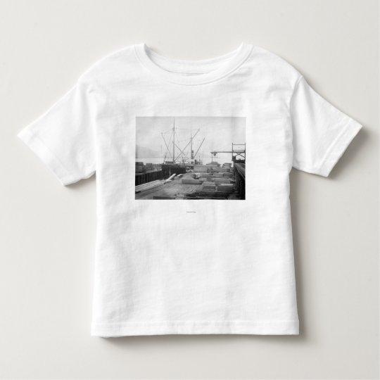 Loading Lumber in General Hubbard Ship Toddler T-shirt
