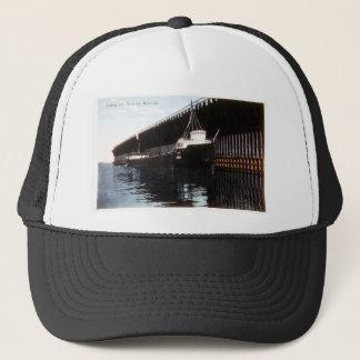 Loading Ore, Escanaba, Michigan Trucker Hat