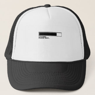 LOADING Please Wait Funny Trucker Hat