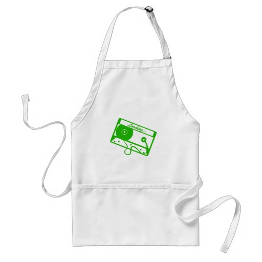 Loading text here adult apron