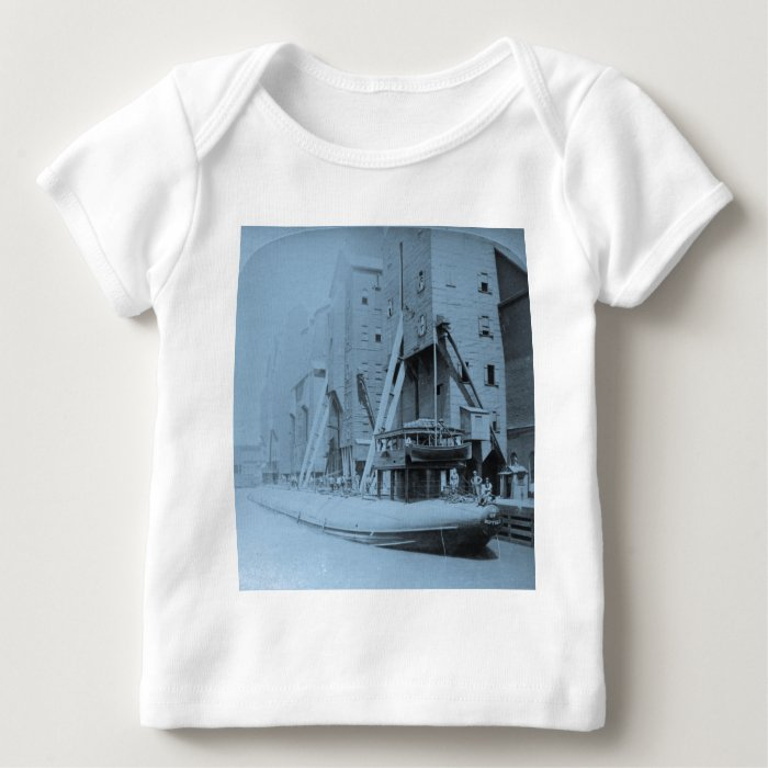 Loading the Great Whaleback, Chicago, Illinois Baby T-Shirt