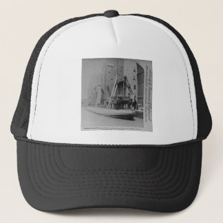 Loading the Great Whaleback, Chicago, Illinois Trucker Hat