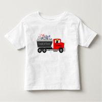 """""""Loads of Love"""" Truck Toddler T-shirt"""