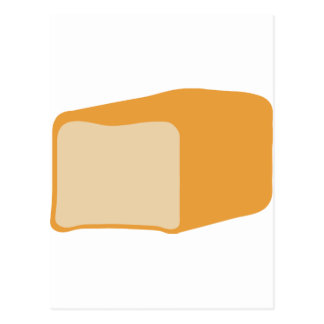 loaf of bread icon postcard