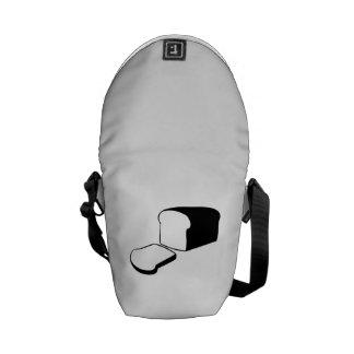 Loaf of Bread Messenger Bags