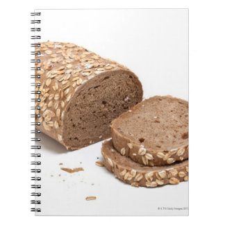 Loaf of bread note book