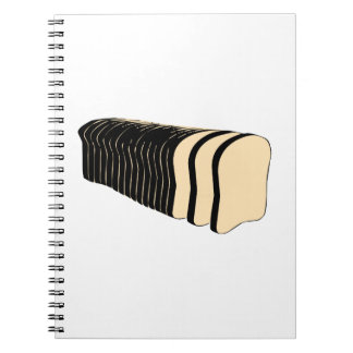 Loaf of Sliced Bread Note Book