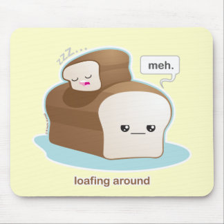 Loafing Around Mouse Pad