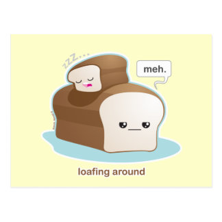 Loafing Around Postcard