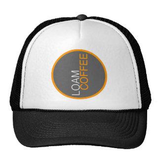 Loam Coffee Trucker Hat - b/w