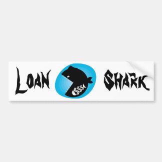 Loan shark bumper sticker