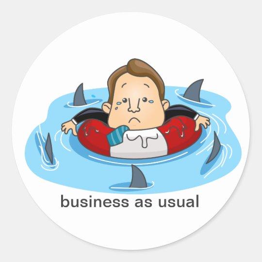 Loan Sharks Classic Round Sticker