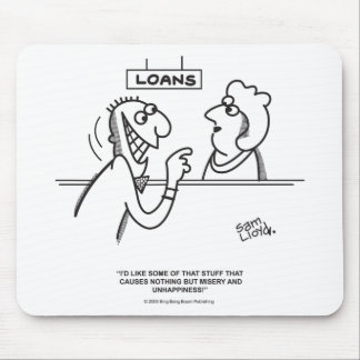 Loans Mouse Pad