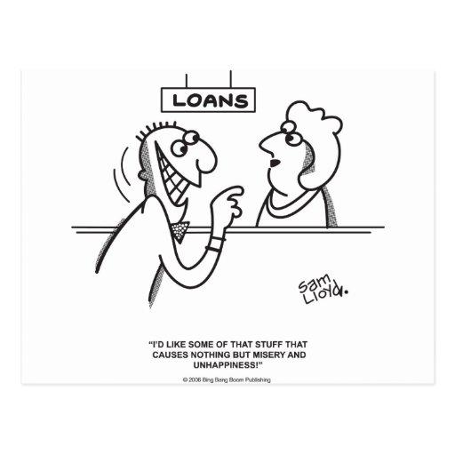 Loans Postcard