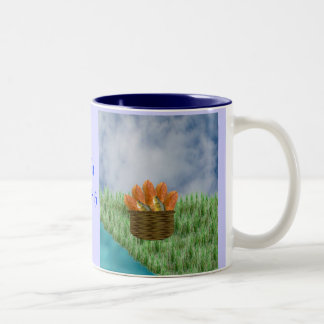 Loaves and Fishes Two-Tone Coffee Mug