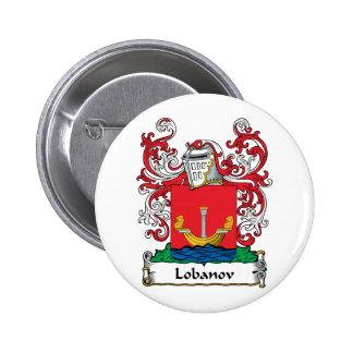 Lobanov Family Crest Button