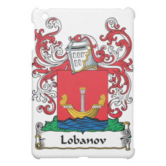 Lobanov Family Crest iPad Mini Cases