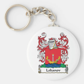 Lobanov Family Crest Key Chain