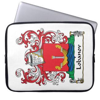 Lobanov Family Crest Laptop Sleeves