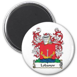 Lobanov Family Crest Magnet