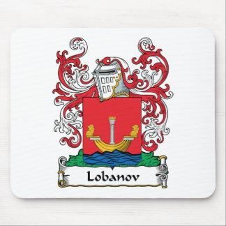 Lobanov Family Crest Mouse Mats