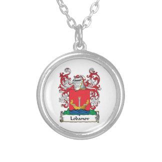 Lobanov Family Crest Custom Necklace
