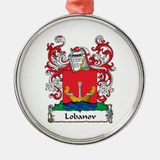Lobanov Family Crest Christmas Ornament
