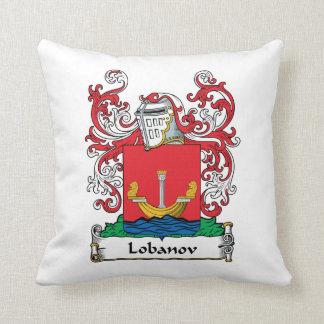 Lobanov Family Crest Pillow