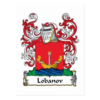Lobanov Family Crest Post Cards
