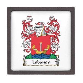 Lobanov Family Crest Premium Jewelry Boxes