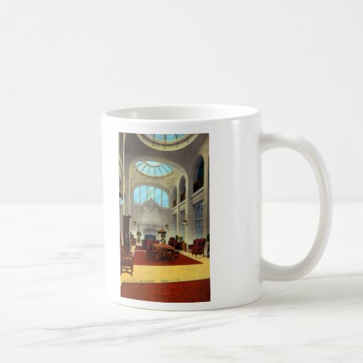 Lobby Bellevue Hotel Coffee Mug