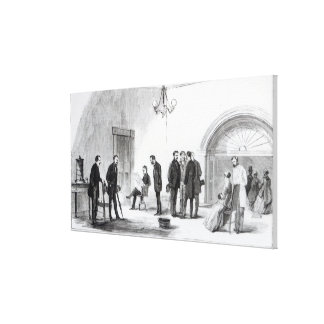 Lobby of the White House at Washington Gallery Wrapped Canvas