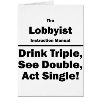 lobbyist card