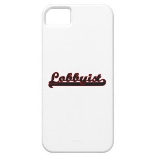 Lobbyist Classic Job Design iPhone 5 Cover