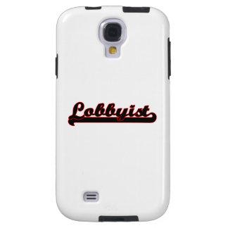 Lobbyist Classic Job Design Galaxy S4 Case