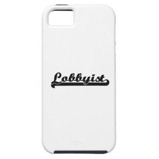 Lobbyist Classic Job Design iPhone 5 Covers