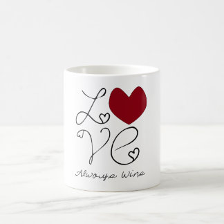 Lobe Always Wins - Change Color Coffee Mug