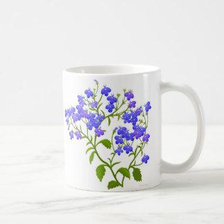 Lobelia Garden Flowers Mug
