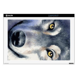 Lobo 43,2cm Portátil Calcomanía