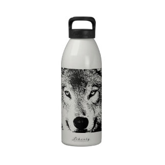 Lobo Botella De Agua