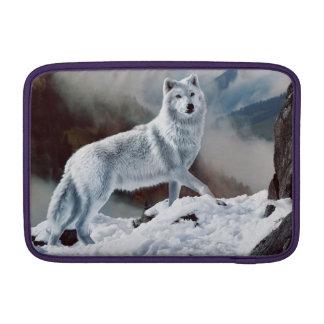 Lobo ártico funda para macbook air