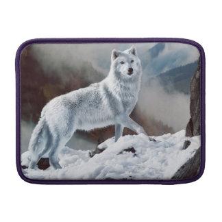 Lobo ártico fundas MacBook