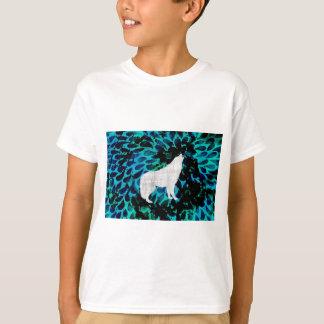 Lobo azul playera