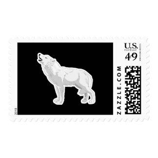 lobo blanco del grito sello