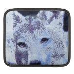 lobo blanco del invierno mangas de iPad